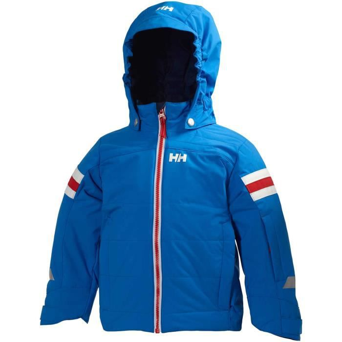 veste de ski helly hansen enfant bleu bleu achat vente combinaison thermique cdiscount. Black Bedroom Furniture Sets. Home Design Ideas