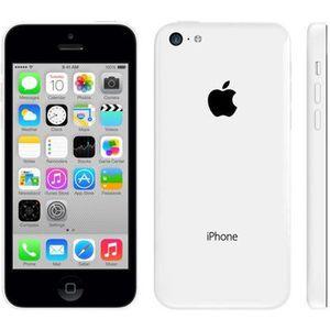 apple iphone 5c 16 go blanc occasion achat smartphone pas cher avis et meilleur prix. Black Bedroom Furniture Sets. Home Design Ideas