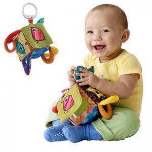 HOCHET Jouet de bébé hochets jouets multifonctionnel cube