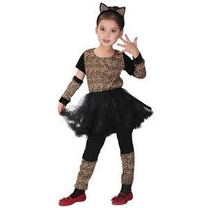 DÉGUISEMENT - PANOPLIE EOZY Déguisement Fille Costume Léopard Panthère