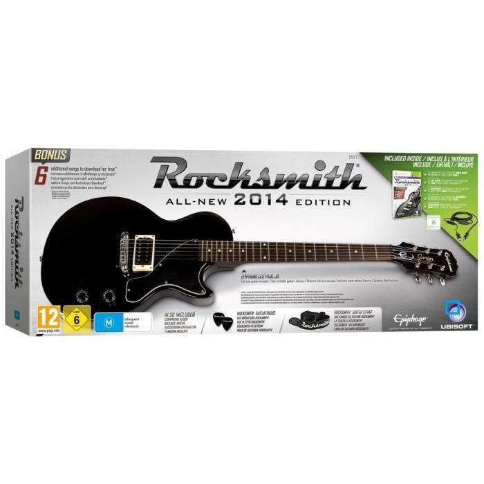 ROCKSMITH 2 + GUITARE Jeu console XBOX 360 Achat / Vente JEUX XBOX
