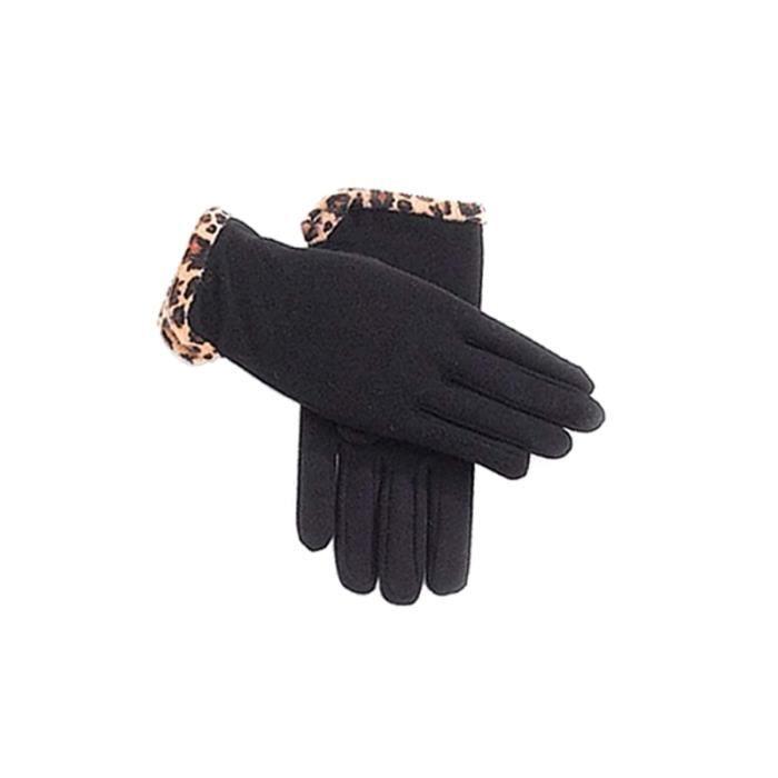 gant noir montant pour femme joli biais l o noir. Black Bedroom Furniture Sets. Home Design Ideas