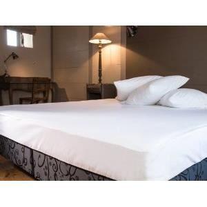 linge de lit parure de drap tissage du moulin pav achat vente parure de drap soldes d t. Black Bedroom Furniture Sets. Home Design Ideas