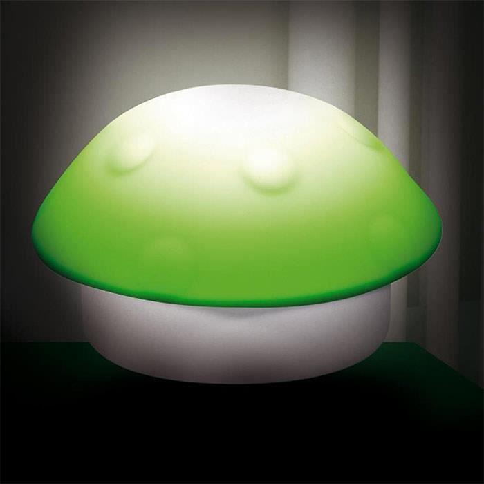 Lampe veilleuse enfant champignon vert achat vente - Lampe veilleuse bebe ...