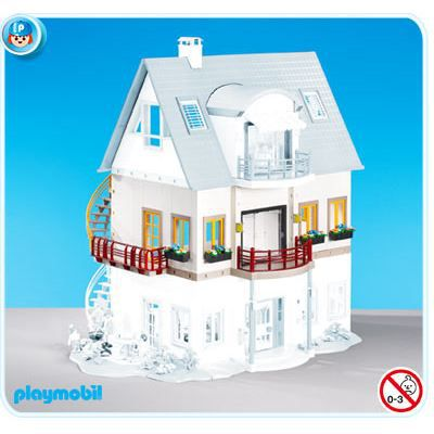 Etage maison playmobil achat vente jeux et jouets pas for Casa playmobil 123