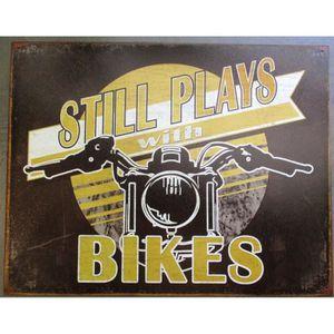 Deco plaques fer ou plaque emaillee  Plaque-publicitaire-still-play-with-bikes-deco-gar