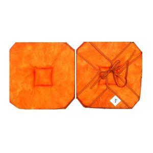 galette de chaise 4 rabats achat vente galette de chaise 4 rabats pas cher cdiscount. Black Bedroom Furniture Sets. Home Design Ideas