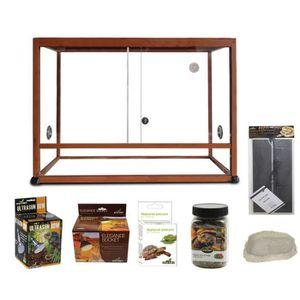 terrarium tortues achat vente terrarium tortues pas. Black Bedroom Furniture Sets. Home Design Ideas