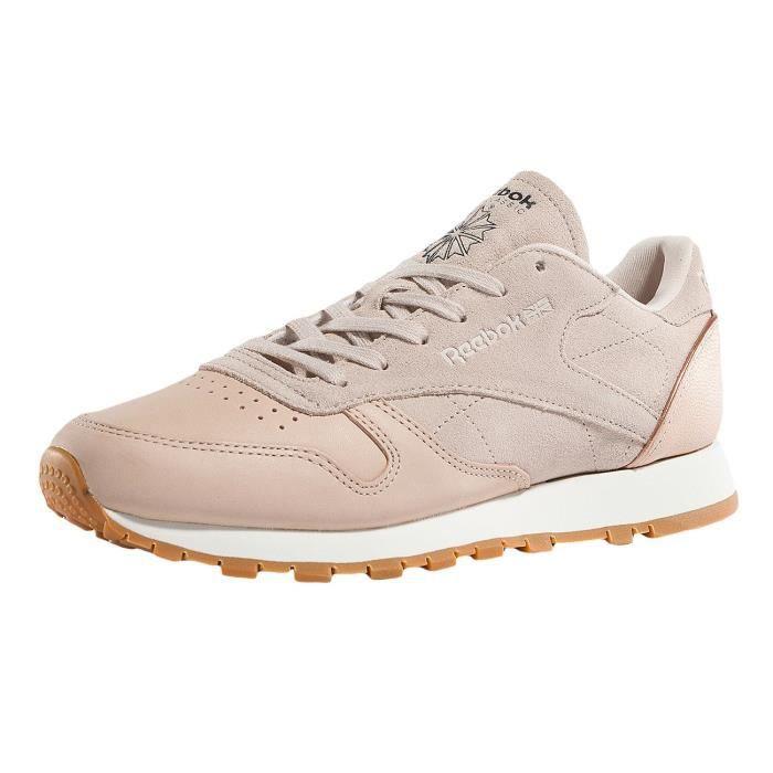 BASKET Reebok Femme Chaussures / Baskets Leather Golden N