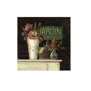 TABLEAU - TOILE Tableau toile - cadre Fleur dans vase - campagne