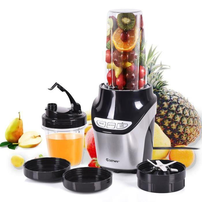 Jus maker m langeur robot liquide appareil smoothie for Appareil cuisine conviviale