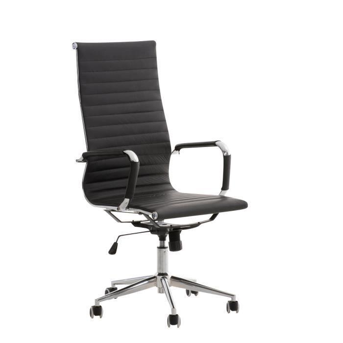 clp fauteuil de bureau roman rembourrage en cuir v ritable de qualit 150 kg assise. Black Bedroom Furniture Sets. Home Design Ideas