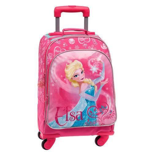 frozen valise trolley la reine des neiges 4 roues 43 cm achat vente cartable 2009938968879. Black Bedroom Furniture Sets. Home Design Ideas