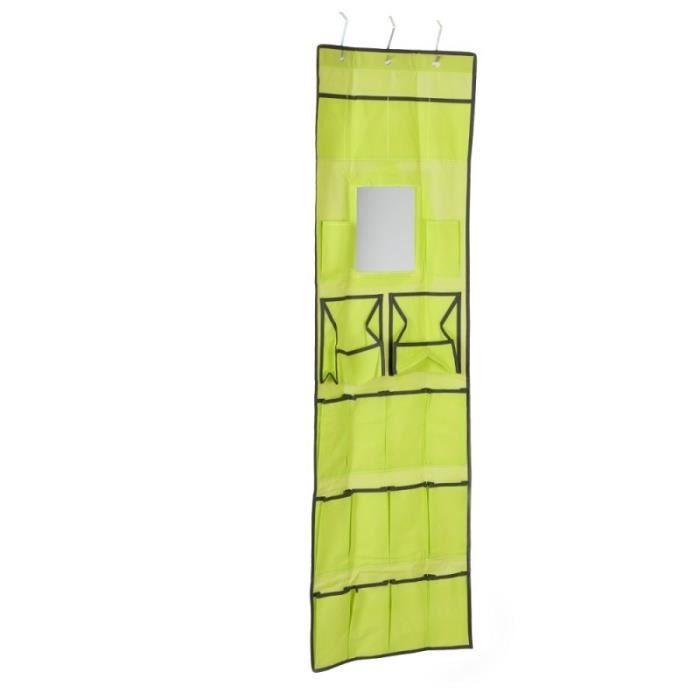 organisateur de salle de bain suspendre vert achat vente porte accessoire organisateur de. Black Bedroom Furniture Sets. Home Design Ideas