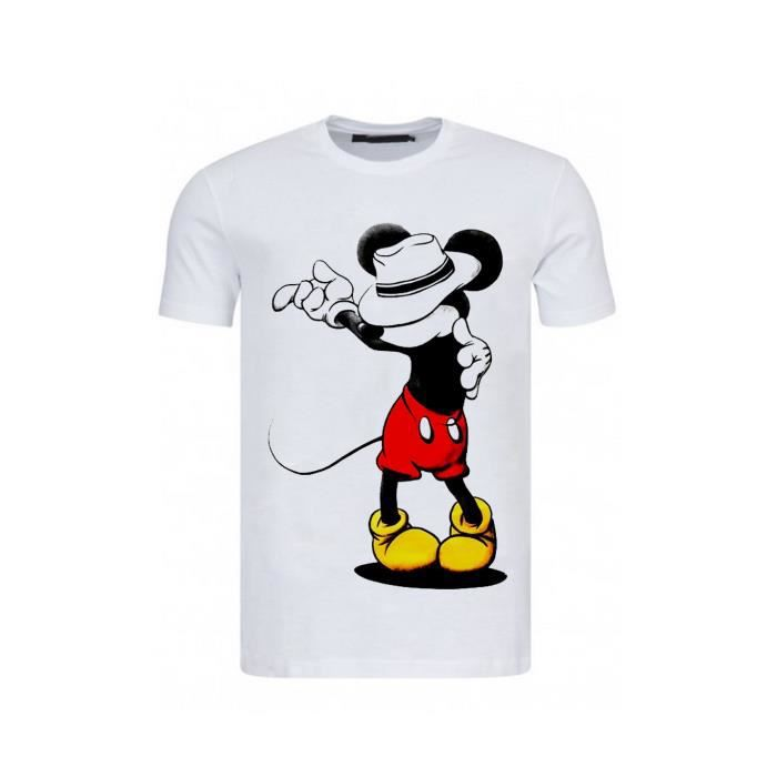 t shirt homme mickey. Black Bedroom Furniture Sets. Home Design Ideas