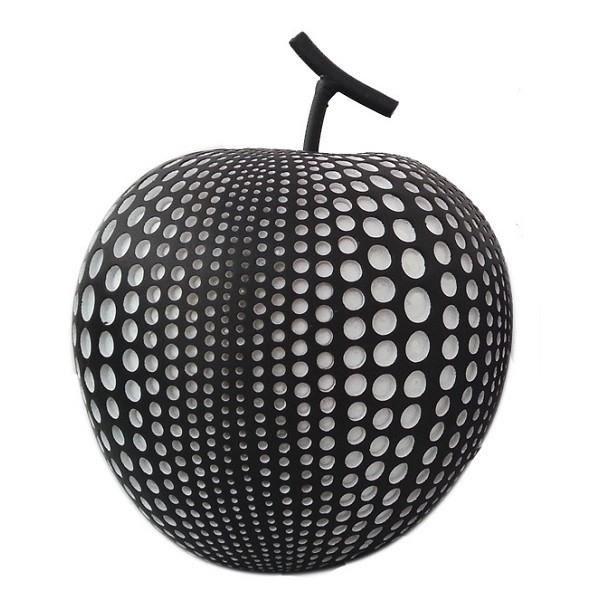 Article de d coration en r sine pomme noire p achat for Resine de decoration