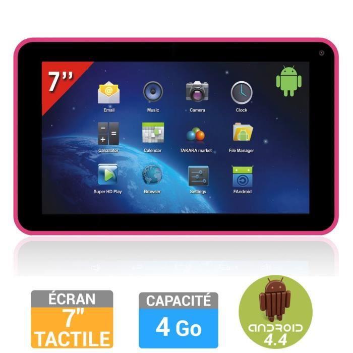 high tech takara mid tablette tactile  go fuschia f takmidp
