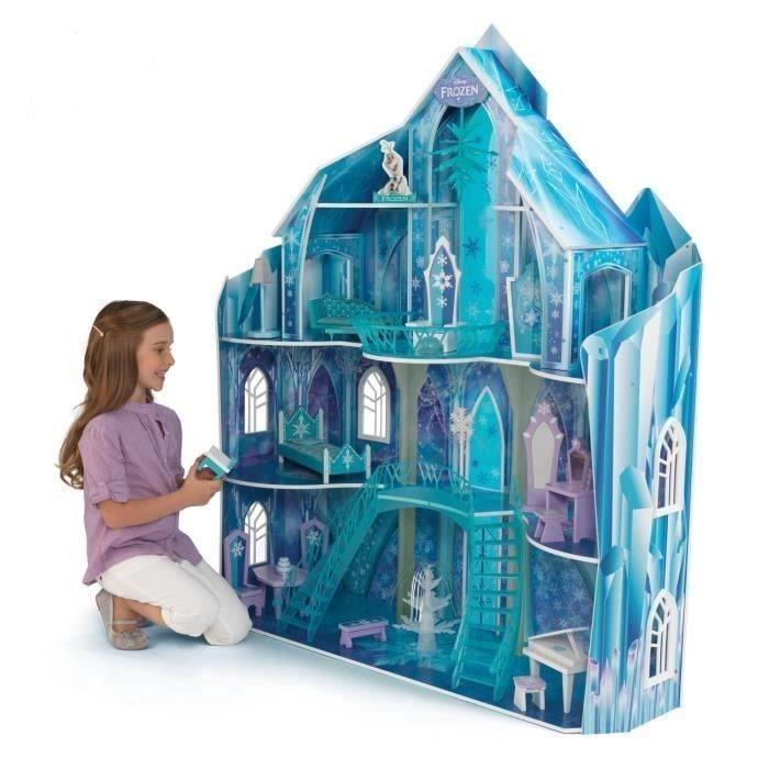 Maison barbie reine des neiges