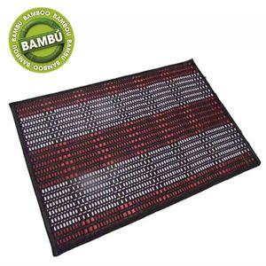Tapis rouge en bambou achat vente tapis rouge en bambou pas cher cdiscount - Tapis bambou pas cher ...