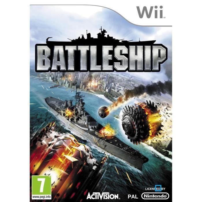 JEUX WII BATTLESHIP / Jeu console Wii