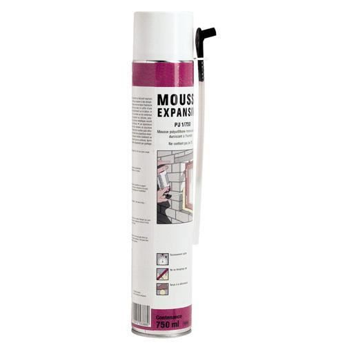Mousse polyurethane 500 ml achat vente joint d 39 tanch it cdiscount - Mousse agglomeree polyurethane ...