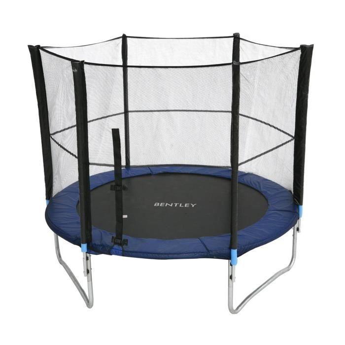 Bentley kids trampoline avec filet de s curit ext rieur 305 cm 10ft - Trampoline d exterieur ...