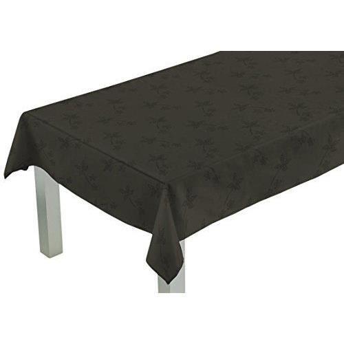 Comptoir du linge csi03004 nappe carr e tissu polyester for Vent du sud linge de maison