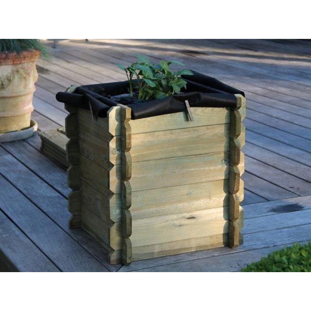 potager bac pommes de terres en bois achat vente carr potager table potager bac. Black Bedroom Furniture Sets. Home Design Ideas