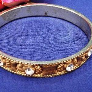 """Bracelet """"Palanquin"""" Doré"""
