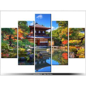 Cadre japonais achat vente cadre japonais pas cher - Tableau jardin japonais ...