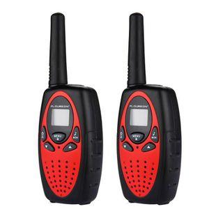 TALKIE-WALKIE Floureon 2 Talkies Walkies 3KM Interphone UHF400-4