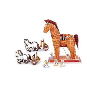 puzzle cheval 3d achat vente jeux et jouets pas chers. Black Bedroom Furniture Sets. Home Design Ideas