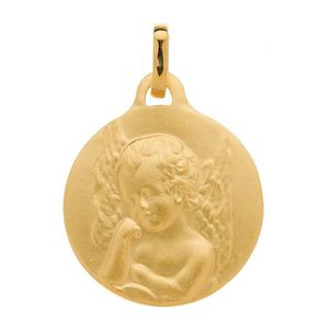 Médaille Ange Or Jaune 750