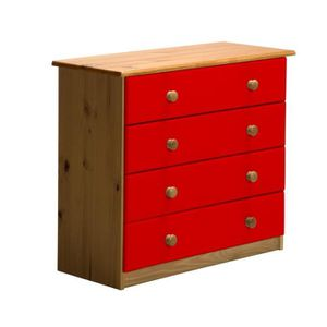 commode chambre rouge