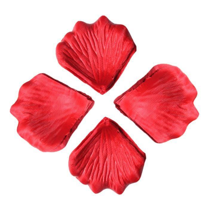 300pcs petales de rose artificiels avec feuilles achat vente fleur artificielle cdiscount. Black Bedroom Furniture Sets. Home Design Ideas