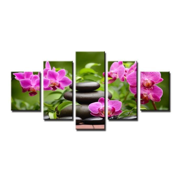 tableau toile zen achat vente tableau toile zen pas cher les soldes sur cdiscount cdiscount. Black Bedroom Furniture Sets. Home Design Ideas
