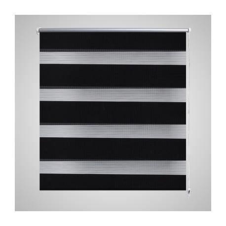 store enrouleur tamisant 90 x 150 cm noir achat vente store de fen tre tissu aluminium. Black Bedroom Furniture Sets. Home Design Ideas