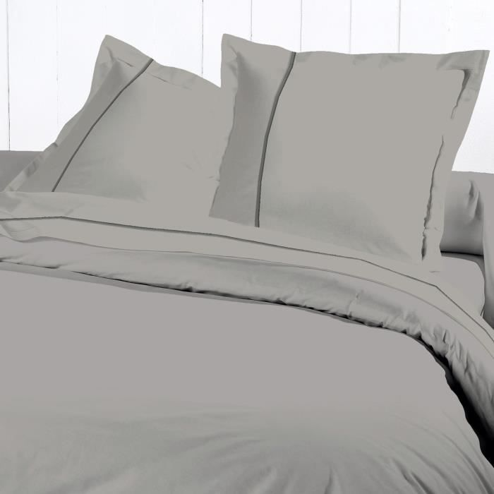 David olivier housse couette 240x260 percale g per achat for Housse de couette percale