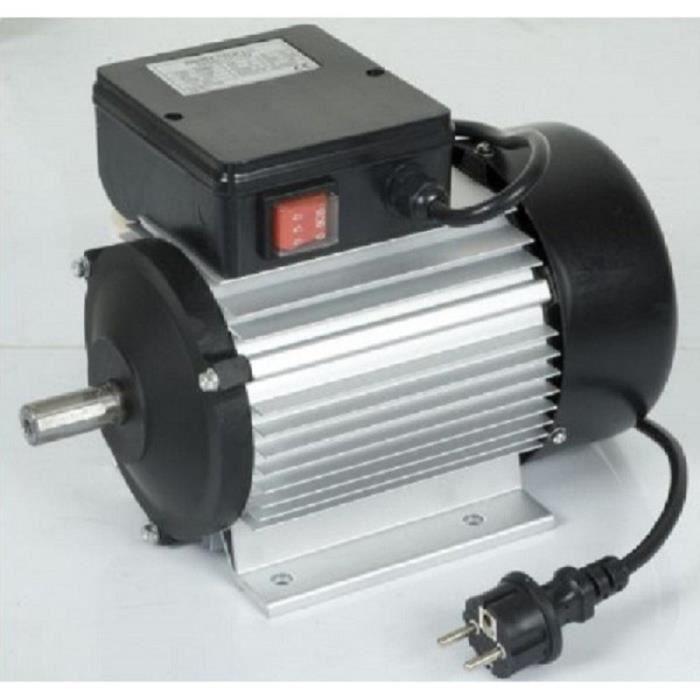moteur lectrique monophas 2 cv 1500 watts achat vente moteur soufflerie moteur. Black Bedroom Furniture Sets. Home Design Ideas