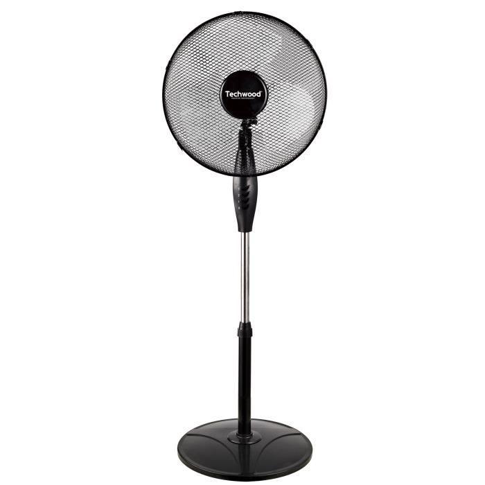 ventilateur sur pied 60w achat vente ventilateur sur pied 60w pas cher cdiscount. Black Bedroom Furniture Sets. Home Design Ideas