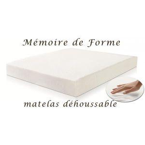 Matelas a memoire de forme souple achat vente matelas a memoire de forme - Matelas memoire de forme soldes ...