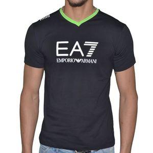 T-SHIRT Ea7 - Tee Shirt Manches Courtes - Homme - Train Gr