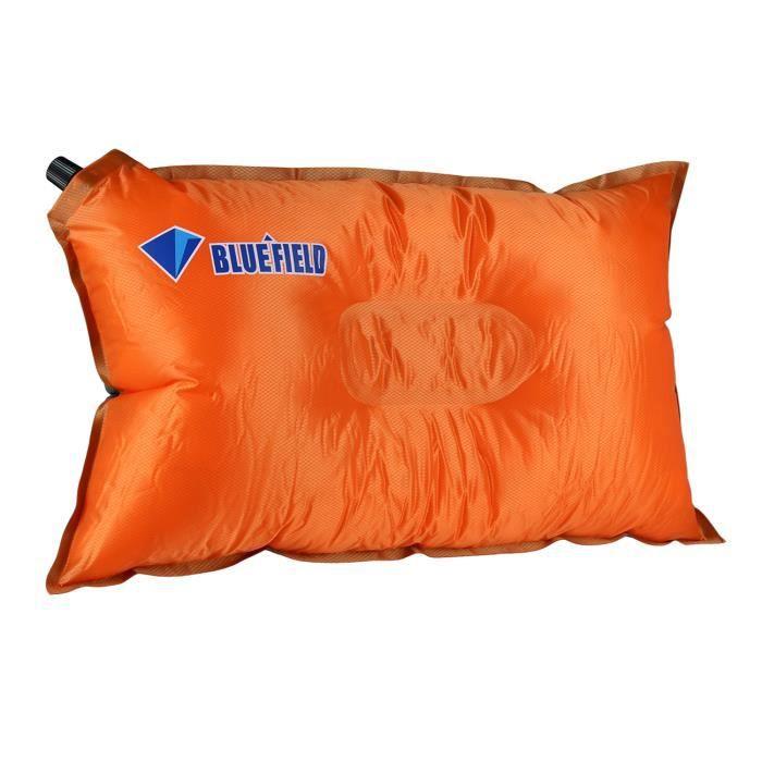 bluefield coussin oreiller gonflable automatique portable tanche rempli de coton confortable. Black Bedroom Furniture Sets. Home Design Ideas