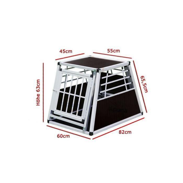 cage n 24 de transport pour chien aluminium achat. Black Bedroom Furniture Sets. Home Design Ideas