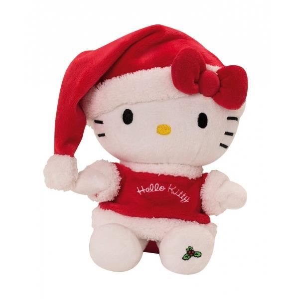 Peluche hello kitty sp cial no l a collecti achat - Hello kitty noel ...