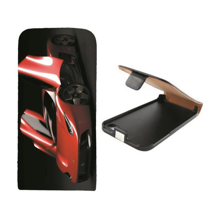 Housse cuir voiture italienne iphone 4 ou 4s achat for Housse voiture pas cher