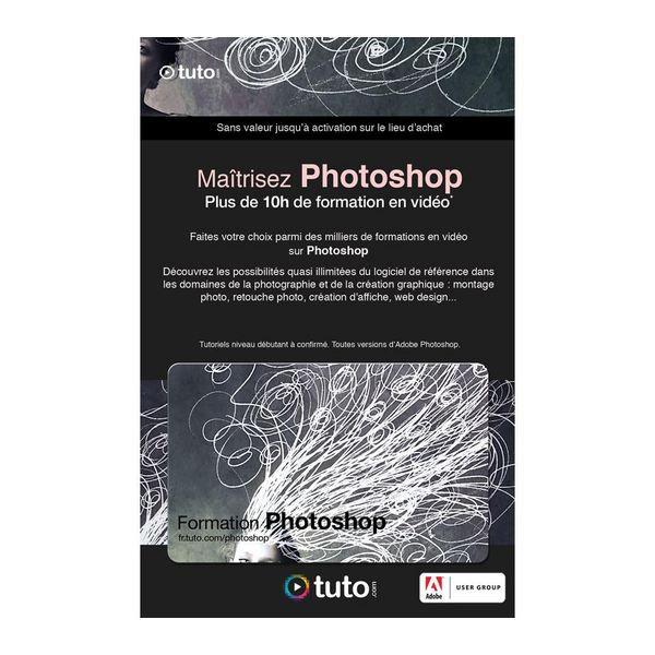 LOGICIEL LOISIRS Carte 50 Crédits Tuto Formation Photoshop