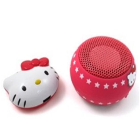 lecteur mp3 hello kitty avec enceintes 2gb achat vente. Black Bedroom Furniture Sets. Home Design Ideas