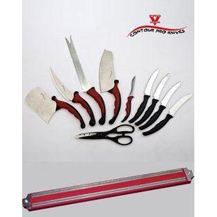 10 couteaux de cuisine 1 barre magnetique achat - Barre d ustensiles de cuisine ...