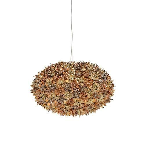 Suspension kartell bloom or bronze cuivre 53 achat for Lustre kartell